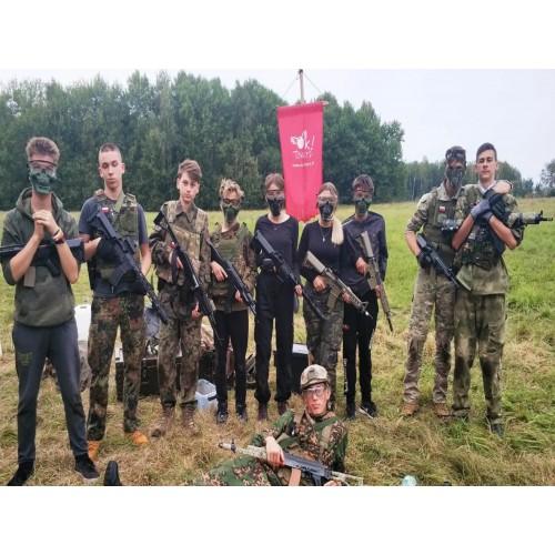 BAŁTYK Dąbki Obóz młodziezowy Paintball 12-17 lat