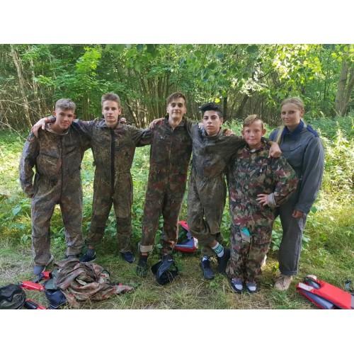 BAŁTYK Mrzeżyno Obóz młodzieżowy Militarne Jaja 12-18 lat